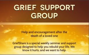 Grief Share Group