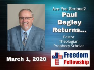 Paul Begley '20 @ Freedom Fellowship Church
