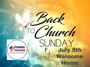 Back to the Church in Lady Lake